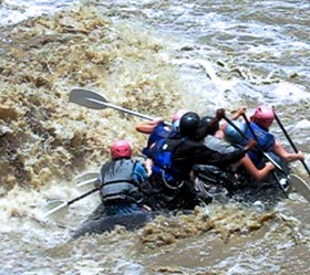 Tugela river whitewater rafting
