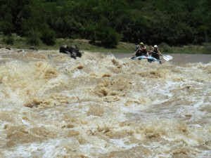 Finger Rock rapid on the Tugela