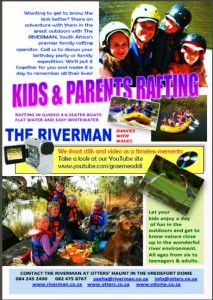 LOGO-rafting for kids and parents