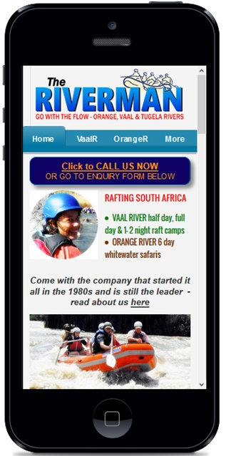 mobile site for riverman